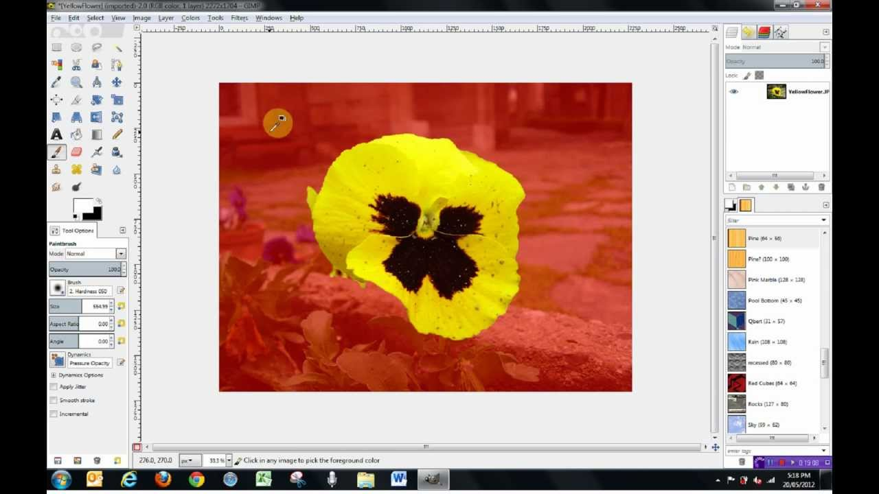 Gimp 2 8 Tools Tutorial - How to use Selection Tools