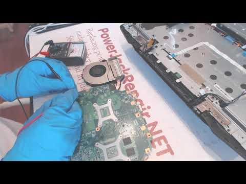 CyberPowerPC model c series nl8 not working Laptop power jack repair fix