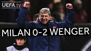 WENGER'S GREAT VICTORIES: Milan 0-2 Arsenal