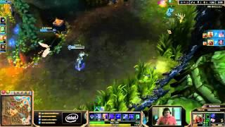 Scarra plays Zed vs Morgana mid lane