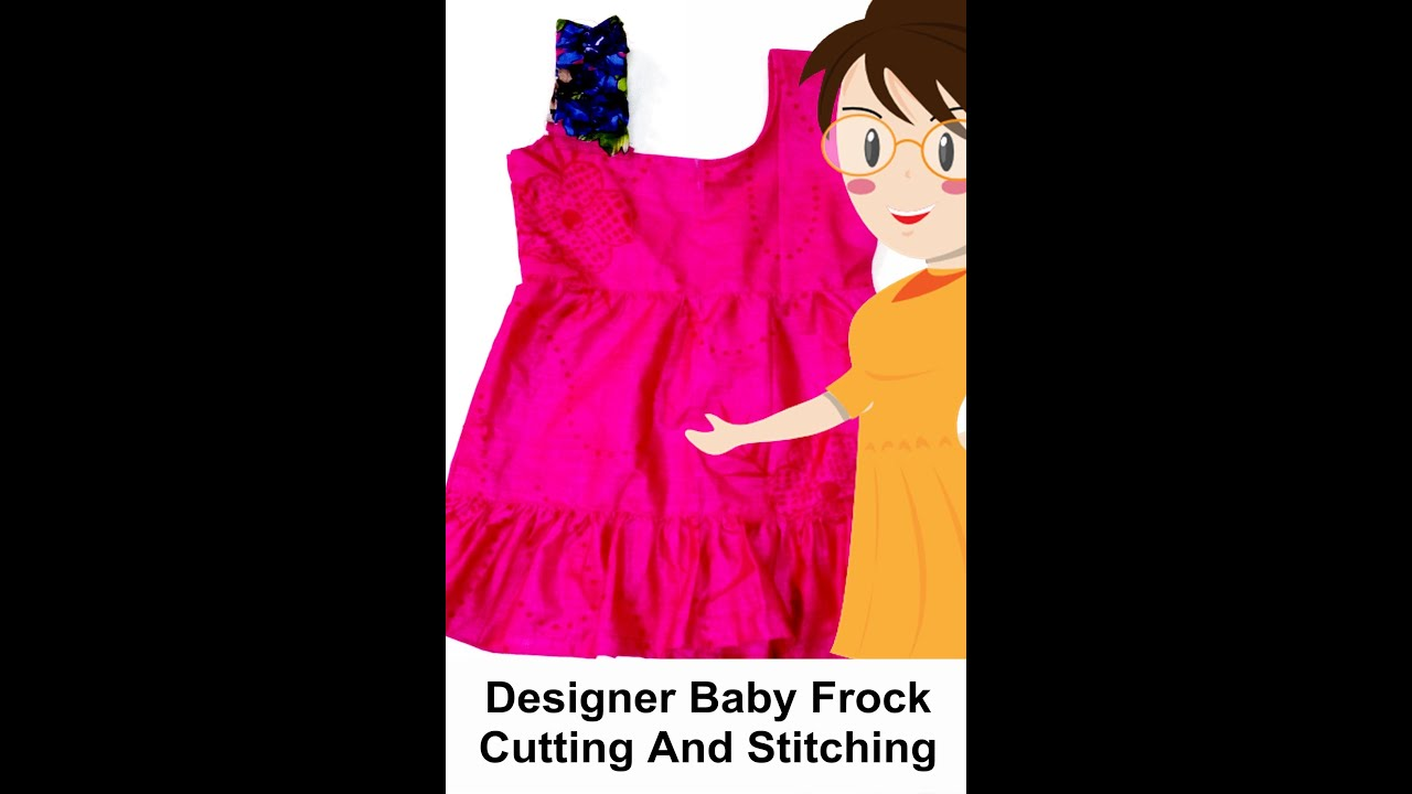 Designer baby frock cutting and stitching tailoring with usha designer baby frock cutting and stitching tailoring with usha youtube jeuxipadfo Images