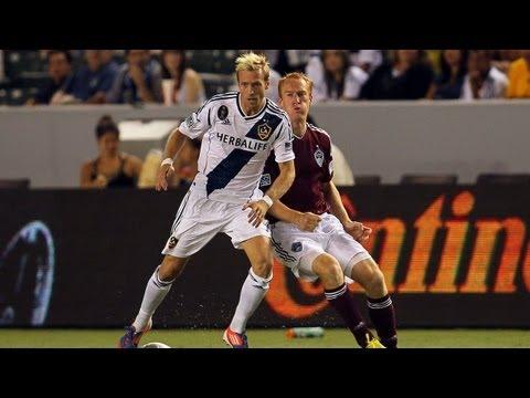 HIGHLIGHTS: LA Galaxy vs Colorado Rapids, September 14, 2012