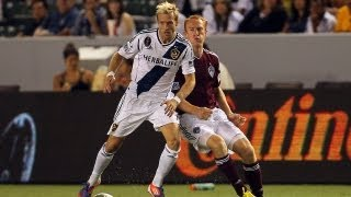 HIGHLIGHTS: LA Galaxy vs Colorado Rapids, September 14, 2012