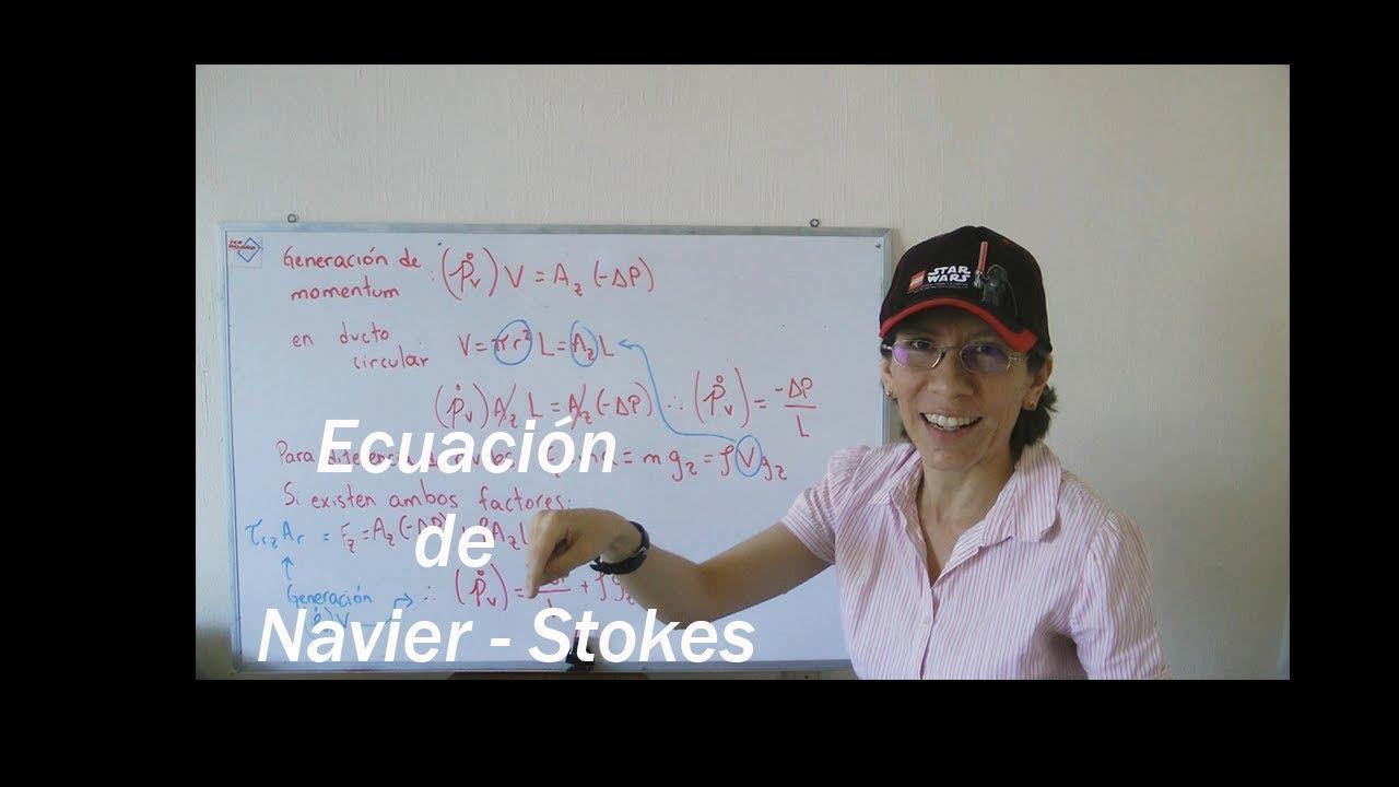 9. Ecuación de Navier - Stokes en fenómenos de transporte