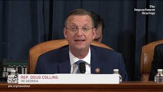 WATCH: Rep. Collins cites Nadler's 1998 speech about impeachment | Trump impeachment hearings