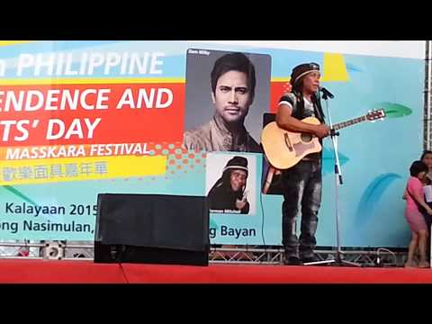 NORMAN MITCHELL @ 117th PHILIPPINE INDEPENDENCE and MIGRANTS' DAY in TAIPEI,  TAIWAN - PART 2