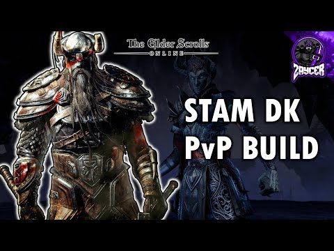 "Scalebreaker Stam DK PvP Build ""Infected"" 