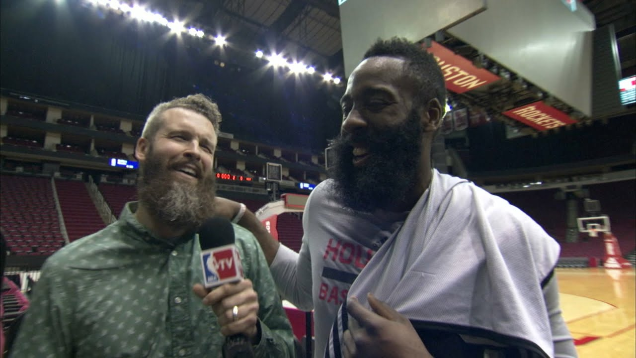 James Harden: The Definitive Beard Interview - YouTube