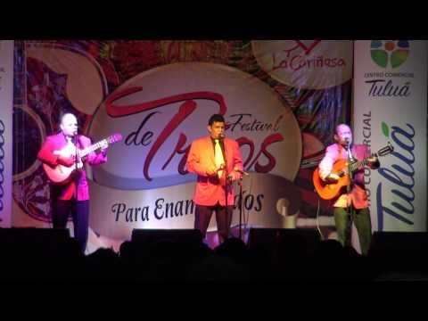 Mil Besos   Cover  Trio Alma Tulueña    Sonido En Vivo