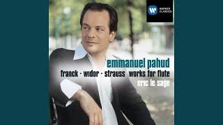 Violin Sonata Op. 18 in E flat (for flute) : II Improvisation (andante cantabile)