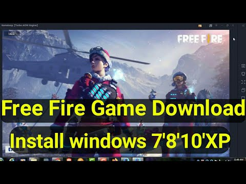 Free Fire Games Download Install Windows 7,8,10,XP/ Download Free Fire On Pc Without Bluestacks