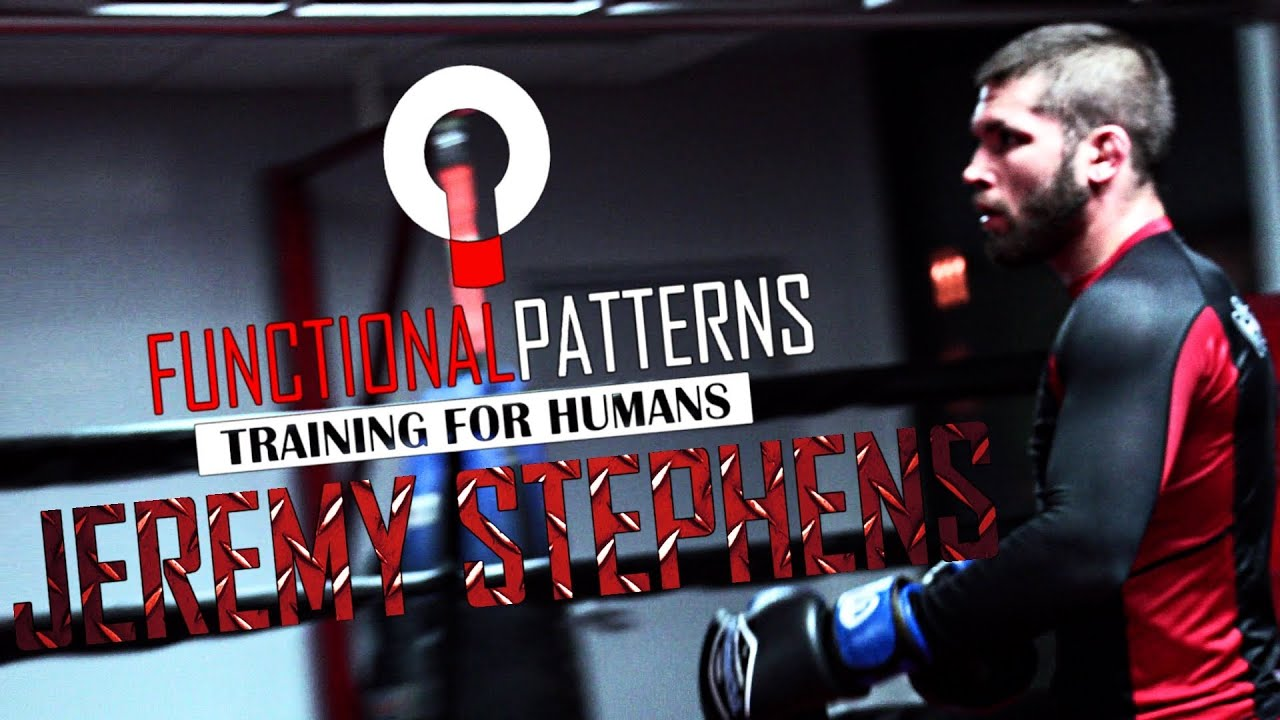 UFC Fighter Jeremy Stephens MMA Strength and Conditioning Workout