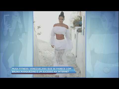 Hora da Venenosa: Venezuelana parecida com Bruna Marquezine é sucesso na internet