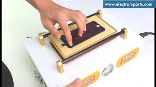 MT Mini bubble remover machine oca laminator м-триангель