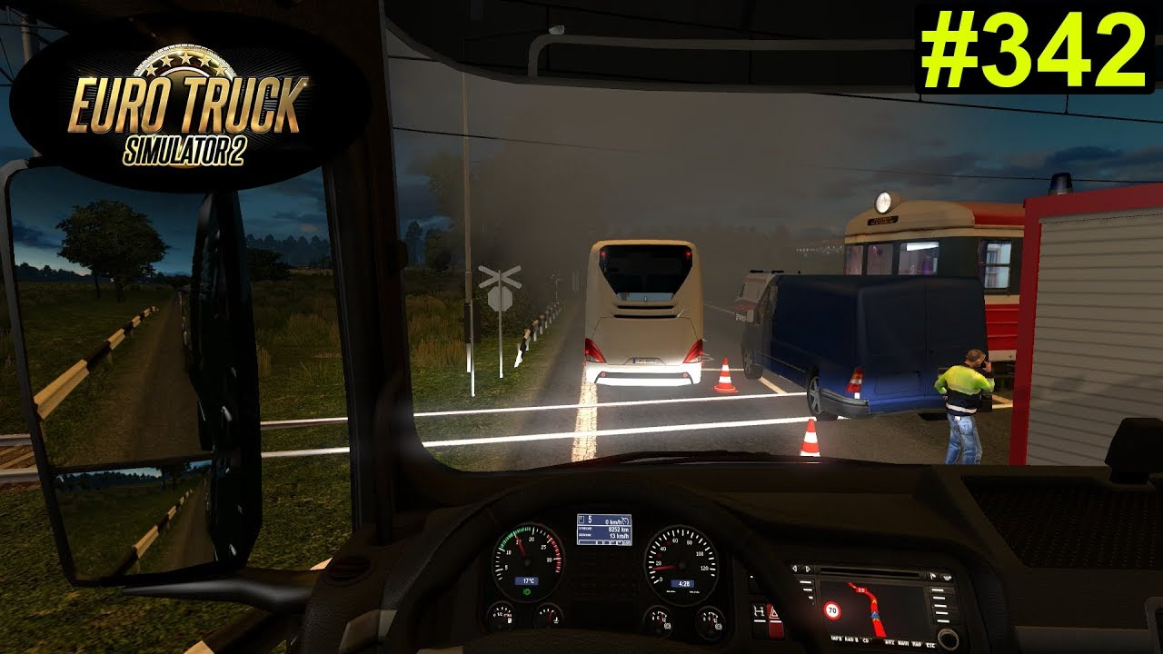 Euro Truck Simulator 2 - der Unfall #342 - Deutsch/German - YouTube