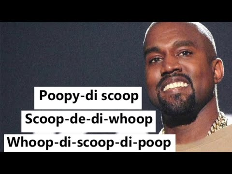 Poopy Di Scoop - Kanye West - Lift Yourself