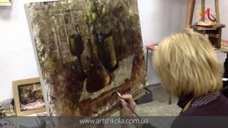 Мастер-класс живописи Елены Ильичевой 15-16.12.2012