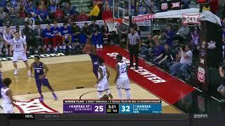 Kansas State vs Kansas Men's Basketball Highlights