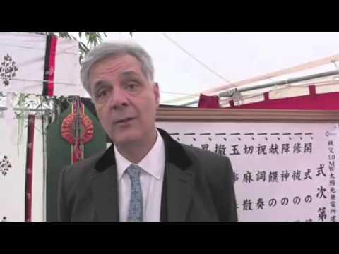 09, March 16: Inauguration Chichibu Mega-solar Power Plant  - CEO Pier Francesco Rimbotti