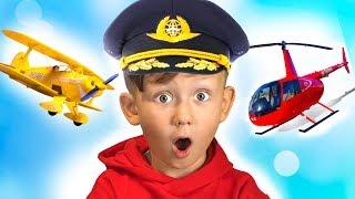 سينيا يريد أن يطير بطائرة هليكوبتر