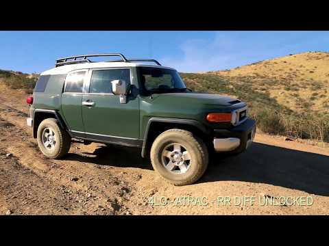 2010 FJ CRUISER 4WD - EXTREME OFF ROAD (FIRST TIME)