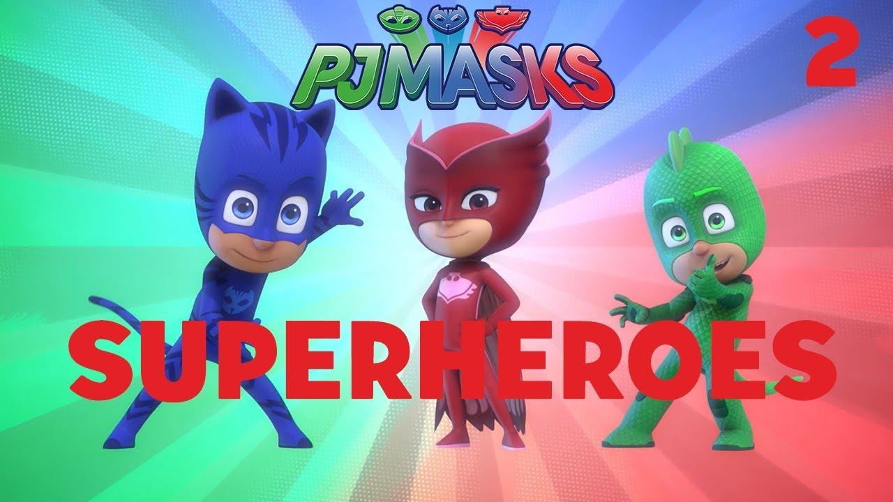 Download Superheroes Compilation! Part 2 | PJ Masks | Disney Junior