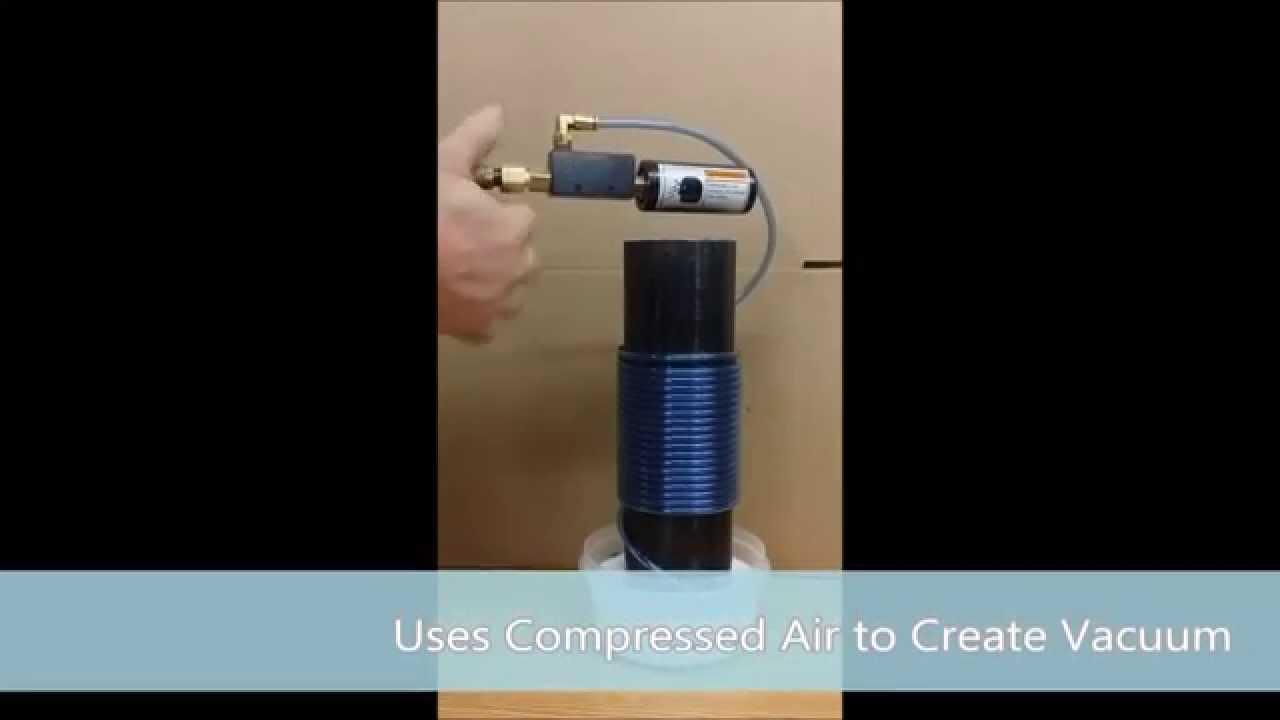 Quickly Get Vacuum At Low Cost With Vacuum Valve Venturi