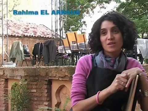 """Résidence de Gravure """"Jeunes Artistes Hispano-marocains"""" Chaouen 2011"""