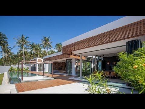 Contemporary Home Design With Modern Tropical And Minimalist Time
