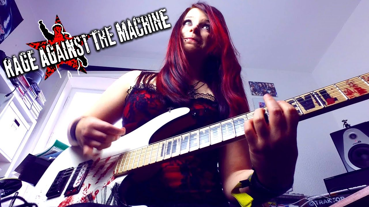rage against the machine killing in the name guitar cover with solo by jassy j youtube. Black Bedroom Furniture Sets. Home Design Ideas