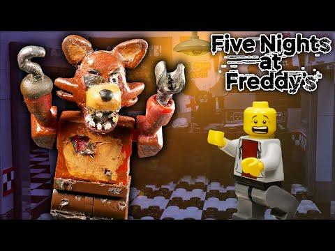 LEGO Мультфильм Five Nights at Freddy's / LEGO Stop Motion, Animation FNaF
