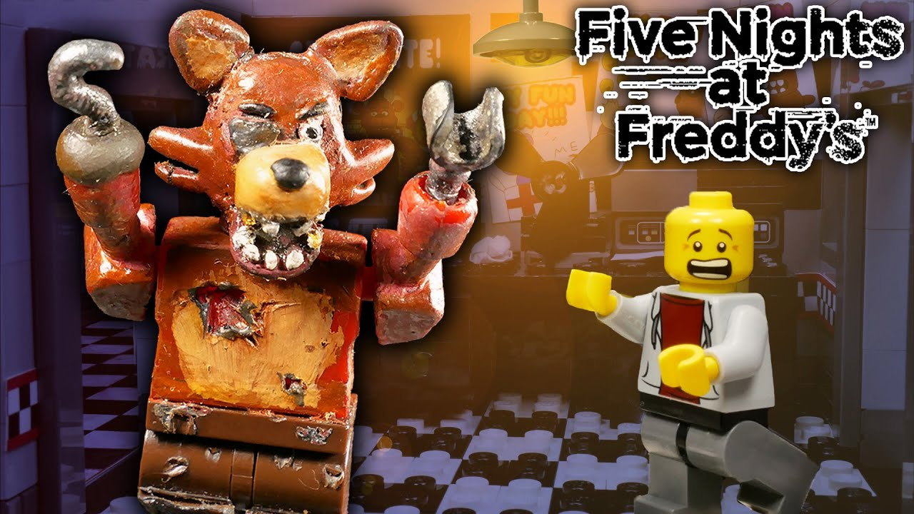 LEGO Мультфильм Five Nights at Freddy's / LEGO Stop Motion, Animation FNaF