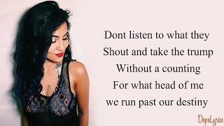 Vidya Vox - Endless Summer Stars (Original)(Lyrics)