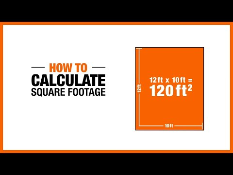 how to calculate square footage the home depot