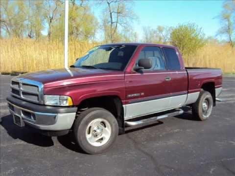 Used Truck For 2000 Dodge Ram 1500 Slt Laramie 4dr Ext Cab 6488