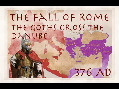 Download The Goths Cross the Danube (376) / The Fall of Rome #1