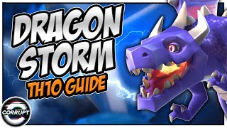 TH10 Dragloon / Dragon Storm Attack Strategy Guide - TH10 Attack Strategy | Clash of Clans
