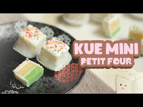 KUE MINI | MINI CAKES | PETIT FOUR | VALENTINE RECIPE