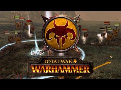 HOMBRES BESTIA: DESPLIEGUE de VANGUARDIA   Total War: WARHAMMER