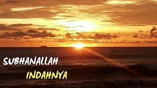 Download lagu INDAHNYA MATAHARI TERBENAM DI PANTAI PANJANG MP3