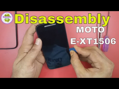 Moto E 2nd gen XT1506 Disassembly, Replace and Repair Display