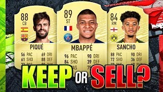 KEEP OR SELL!? FIFA 20 Ultimate Team Tips