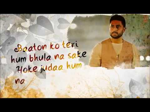 Baaton Ko Tere (All Is Well) - instrumental Video Song | Debanjan Dhar