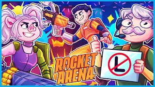 Rocket Arena but we don't lose a single game...