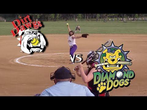 10u fastpitch softball Diamond Dogs vs Dirt Dawgs 5/19/13 at the Breast Cancer Shootout in Aurora OH