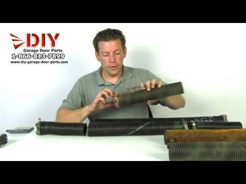 Torsion Spring Replacement How To Videos Diy Garage Door Parts