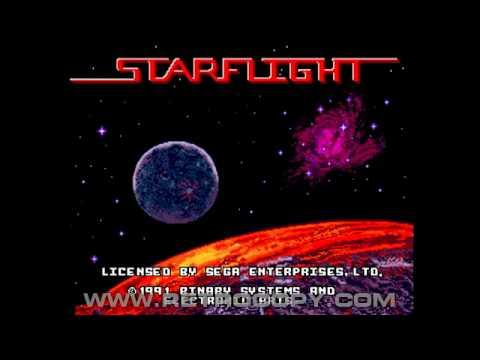 Starflight Sega Genesis Mega Drive Intro Youtube