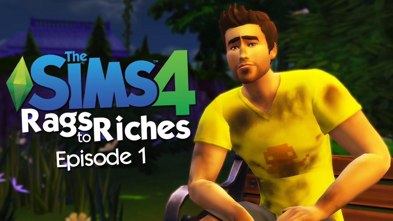 sims 4 how to play rags to riches