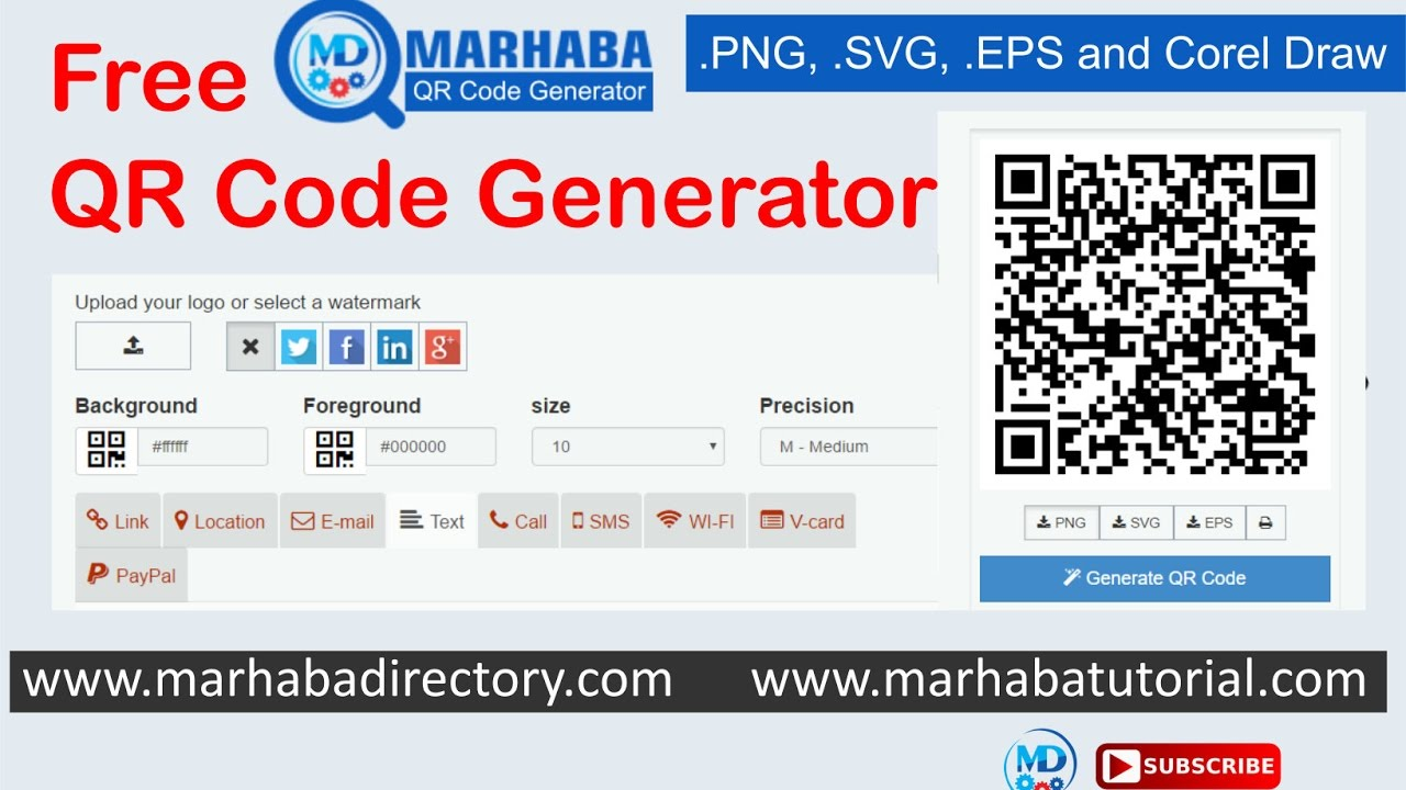Free qr code generator and convert in corel draw youtube free qr code generator and convert in corel draw stopboris