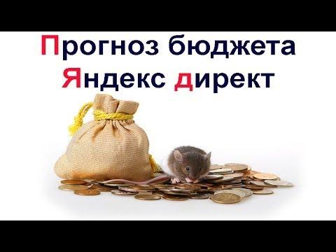 Яндекс директ прогноз ставки